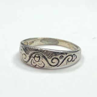 1809 シルバーリング 模様デザイン 925 7号(リング(指輪))