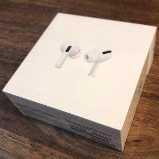 アップル(Apple)の保証付 AirPods Pro 新品未開封 エアポッズプロ ワイヤレスイヤホン(ヘッドフォン/イヤフォン)