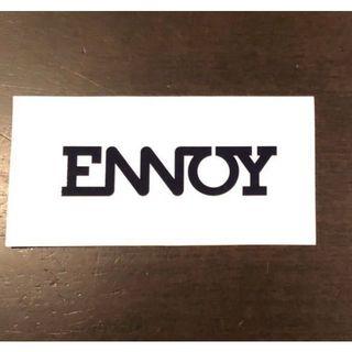 ワンエルディーケーセレクト(1LDK SELECT)の非売品 スタイリスト私物 愛用 ENNOY ステッカー 山本康一郎(その他)