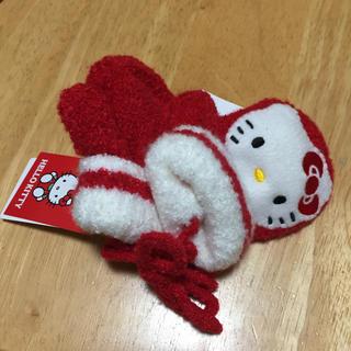 ハローキティ(ハローキティ)の2歳〜3歳用🎀キティちゃん  笛付き手袋🎀(手袋)