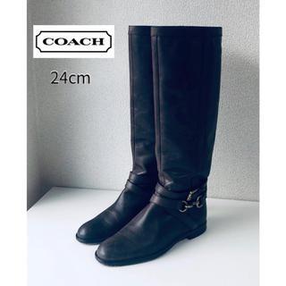 コーチ(COACH)のCOACH コーチ ロングブーツ ブーツ♪(ブーツ)