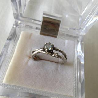 ブルームーンストーン シルバー指輪(リング(指輪))