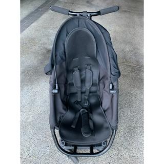 エアバギー(AIRBUGGY)のCURIO ベビーカー ブラックstroller A(ベビーカー/バギー)