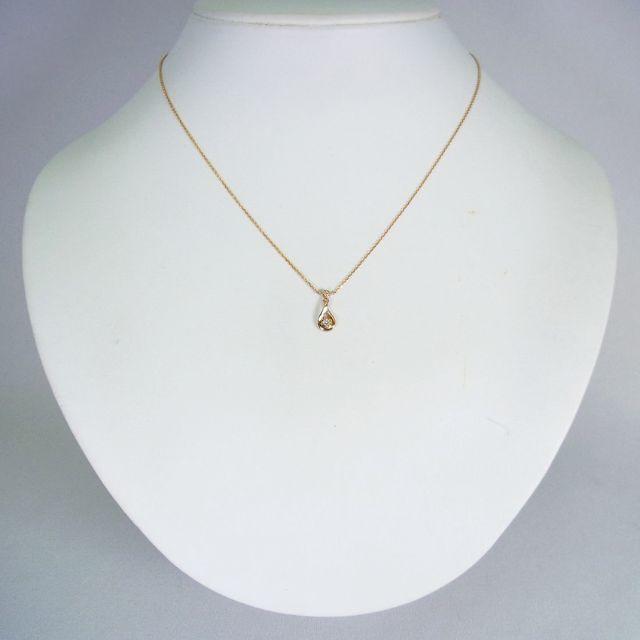 4℃(ヨンドシー)の4℃ K18 ダイヤモンド ペンダント[g135-4] レディースのアクセサリー(ネックレス)の商品写真