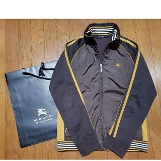 バーバリーブラックレーベル(BURBERRY BLACK LABEL)のバーバリーブラックレーベルトラックジャケット サイズ2中古BURBERRY(ジャージ)