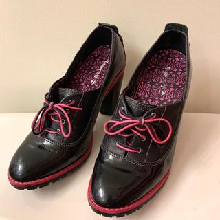 ティンバーランド(Timberland)のティンバーランド ブラック エナメル シューズ 25(ローファー/革靴)