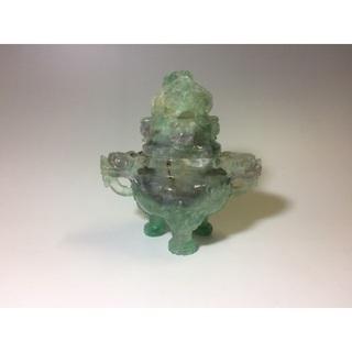 中国の伝統工芸品 玉宝 香炉(彫刻/オブジェ)