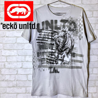 エコーアンリミテッド(ECKO UNLTD)の【ECKO UNLTD.】カットソー T-Shirt ビッグプリント(Tシャツ/カットソー(半袖/袖なし))