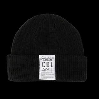 サンダイメジェイソウルブラザーズ(三代目 J Soul Brothers)のCLAIR DE LUNE Knit Cap Black(ニット帽/ビーニー)