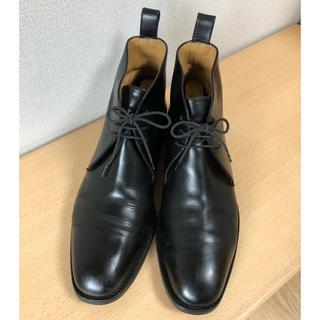 ヤンコ(YANKO)のYANKO ヤンコ チャカブーツ ブラック(ドレス/ビジネス)