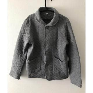 ムジルシリョウヒン(MUJI (無印良品))の無印良品 ジュニア150 キルティングジャケット(ジャケット/上着)