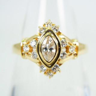 K18 ダイヤモンド リング 12.5号[g136-8](リング(指輪))