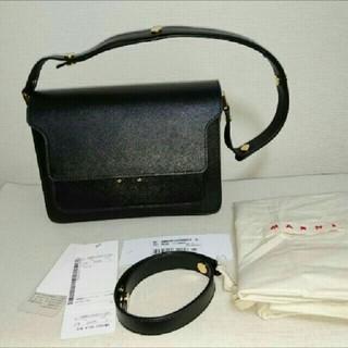 マルニ(Marni)の新品未使用 MARNI トランク ミディアム 黒(ショルダーバッグ)