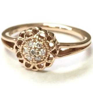 ヨンドシー(4℃)の4℃ ピンクゴールド ピンキーリング(リング(指輪))