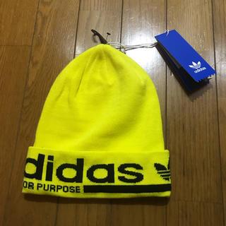 adidas - 新品 adidas originals アディダス ニットキャップ ニット帽 黄