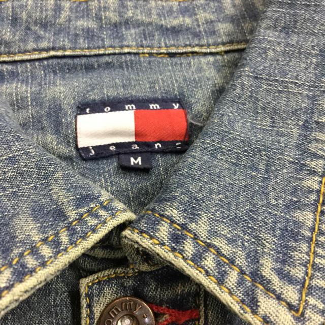 TOMMY HILFIGER(トミーヒルフィガー)のTOMMY JEANS デニムジャケット Gジャン キッズ/ベビー/マタニティのキッズ服女の子用(90cm~)(ジャケット/上着)の商品写真