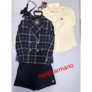 レピピアルマリオ(repipi armario)の《値下げ!》レピピアルマリオ 卒服 Sサイズ150cm(ドレス/フォーマル)