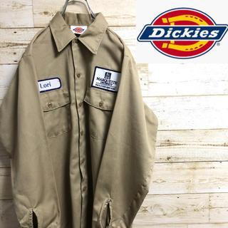 ディッキーズ(Dickies)の*DICKIES*ディッキーズ*長袖ワークシャツ*(シャツ)