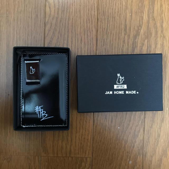 JAM HOME MADE & ready made(ジャムホームメイドアンドレディメイド)の美品#FR2 マルチウォレット JAMEHOMEMADE メンズのファッション小物(マネークリップ)の商品写真