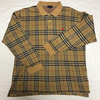 BURBERRY - ⭕️人気、レア⭕️バーバリー ノバチェック  ポロシャツ