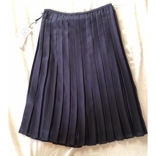 ストラ(Stola.)のストラ Stola  プリーツスカート  新品未使用 タグ付き (ひざ丈スカート)