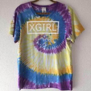エックスガール(X-girl)のタイダイ柄 Tシャツ(Tシャツ(半袖/袖なし))