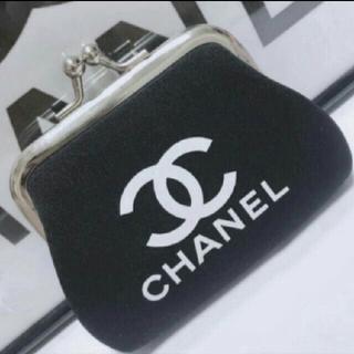 CHANEL - CHANEL ノベルティ がま口コインケース 小銭いれ