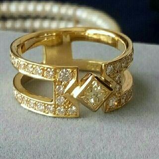 K18  ダイヤモンドリング (アーペルトリング)12.5号(リング(指輪))