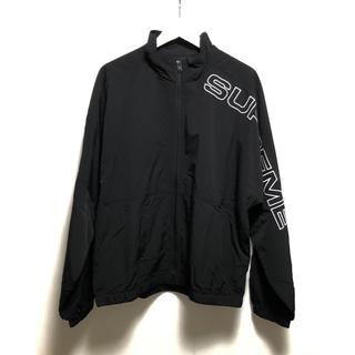 シュプリーム(Supreme)の新品 SUPREME 17SS Track Jacket M 黒   (ナイロンジャケット)