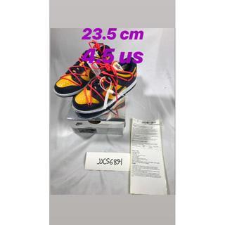 ナイキ(NIKE)の23.5cm/4.5US Nike Dunk Low Off-White OW(スニーカー)