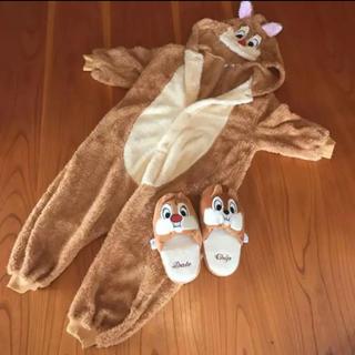 チップアンドデール(チップ&デール)の着ぐるみパジャマ チップデールとサリー(パジャマ)