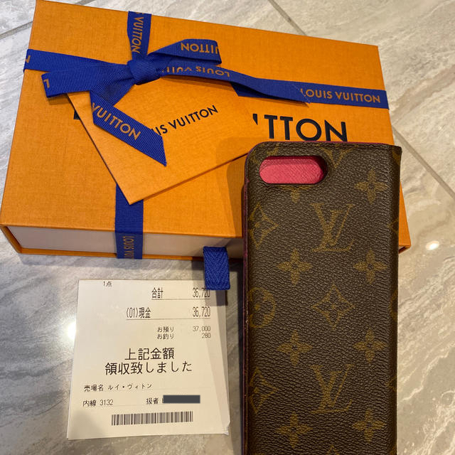 LOUIS VUITTON - 本日¥500円引きルイヴィトンiPhoneケースの通販