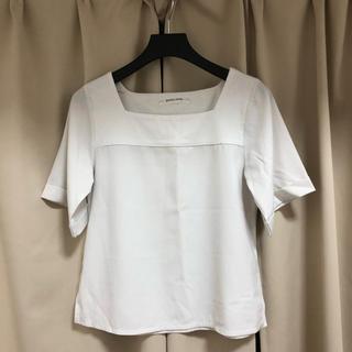 スパイラルガール(SPIRAL GIRL)のspiralgirlスクエアネックトップス(Tシャツ(半袖/袖なし))