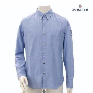モンクレール(MONCLER)のモンクレール ガムブルー オックスフォードシャツ(シャツ)