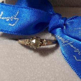 【タイムセール中‼️】セイレーンアズーロ K18 ミルキーダイヤモンドリング(リング(指輪))