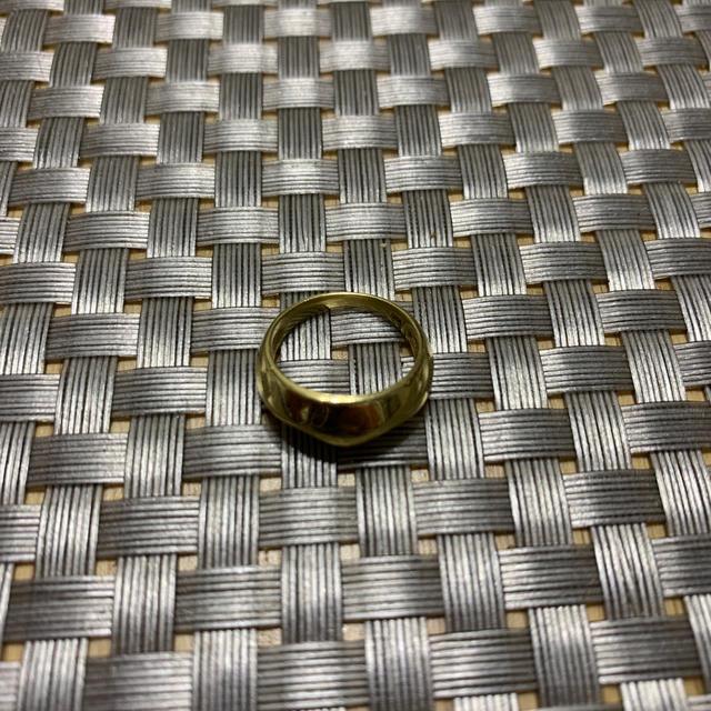 K18ピンキーリング❤︎4号 レディースのアクセサリー(リング(指輪))の商品写真