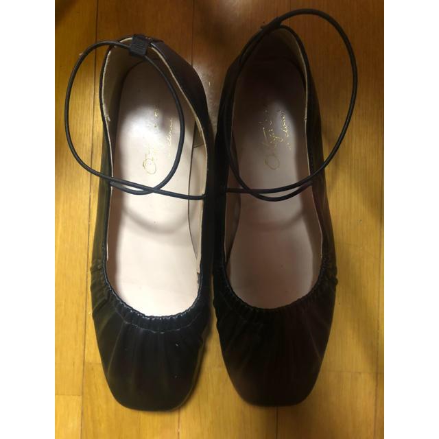w closet(ダブルクローゼット)のダブルクローゼット バレエシューズ レディースの靴/シューズ(バレエシューズ)の商品写真
