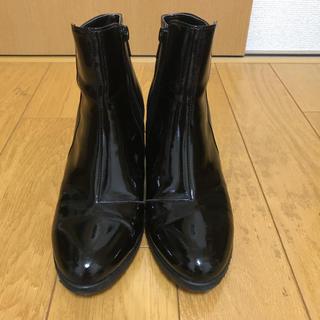 エレガンスヒミコ(elegance卑弥呼)の【未使用に近い】卑弥呼レインショートブーツ(レインブーツ/長靴)