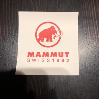 マムート(Mammut)の新品●マムート MAMMUT ステッカー(その他)
