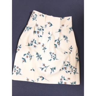 ティティアンドコー(titty&co)の【titty&Co】花柄スカート(ひざ丈スカート)