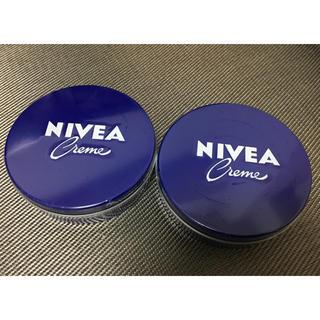 ニベア(ニベア)のニベア ハンドクリーム ボディクリーム 青缶(ハンドクリーム)