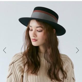 DEUXIEME CLASSE - シャポードオー オーバーライド ハット 帽子