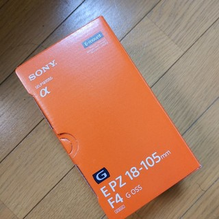ソニー(SONY)のE PZ18-105mm  F4 G OSS  ブラック 新品未使用(レンズ(ズーム))