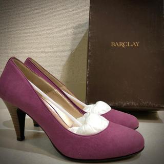 BARCLAY - 【新品未使用】バークレー BARCLAY ピンクパンプス