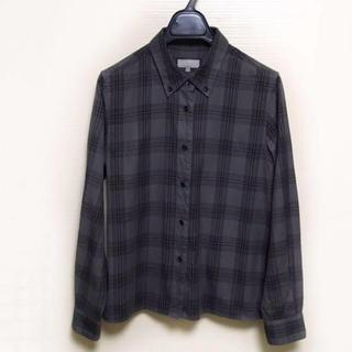 マーガレットハウエル(MARGARET HOWELL)のMARGARET HOWELL 2 コットンシャツ チェック(シャツ/ブラウス(長袖/七分))