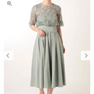 LagunaMoon - ラグナムーン オーバーレースギャザードレス ミント Sサイズ