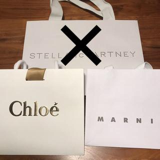 マルニ(Marni)のショップ袋 marni Chloe マルニ クロエ ショッパー 紙袋(ショップ袋)