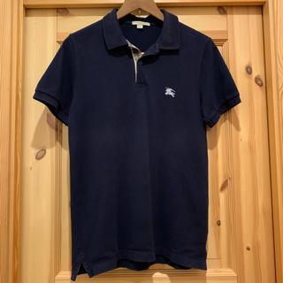 BURBERRY - バーバリー ブリット 半袖ポロシャツ ダークネイビー