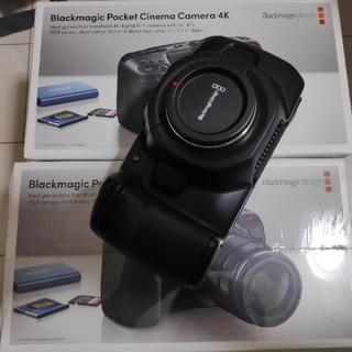 アップル(Apple)の新品未開封Black magic pocket cinema camera 4k(ビデオカメラ)