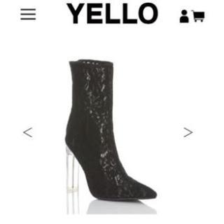 イエロー(yellaw)のYELLO NORA SHORT XL(ブーツ)